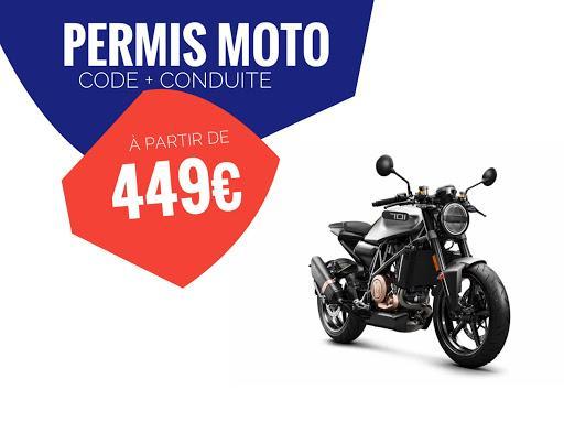 ECF Toulouse J JAURES - 🏍 🚗 N1 du Stage Code et Conduite - Permis Moto 🏍 A2 - Passerelle Moto A2 / A - Formation 125 - BSR