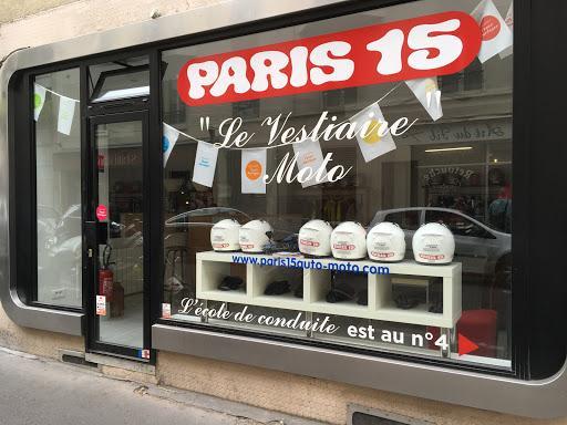 Paris 15 Auto-Moto Ecole